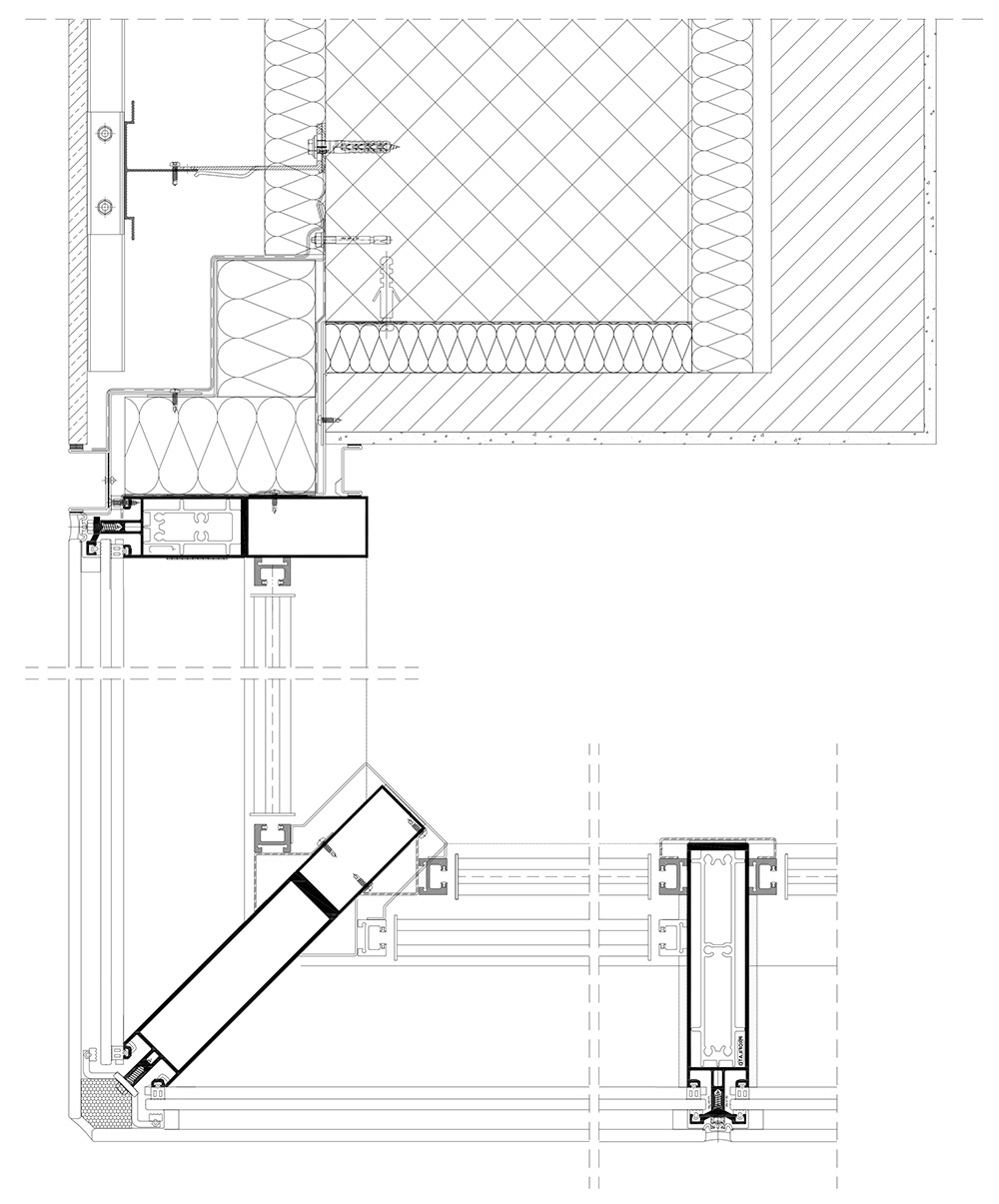 Building envelopes in addition Ultraply Tpo Sa in addition 164733298845955884 besides Wallslide likewise Torre 18 3. on wall panel technical drawings