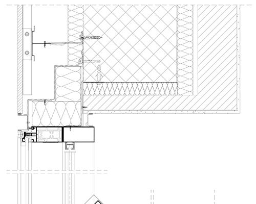 Polito serramenti for Dettaglio inquadratura vetrata